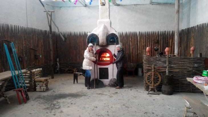 печка с лежанкой