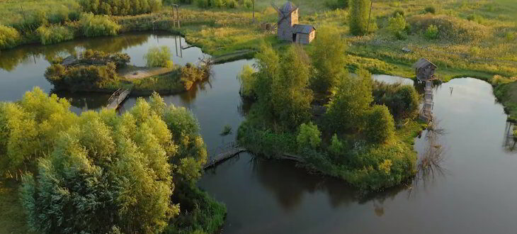 зарыбленный пруд