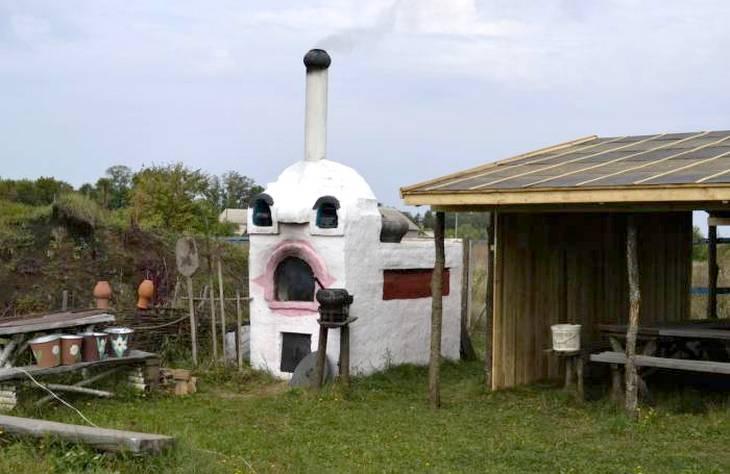 русская печь с лежанкой фото